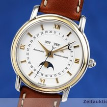 Maurice Lacroix Masterpiece Phases de Lune Gold/Steel 37.5mm White