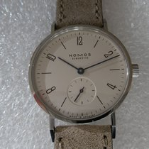 NOMOS Tangente 33 Steel 32,8mm White