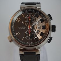 Louis Vuitton Tambour Spin Time Regatta Titanium 45.5 mm