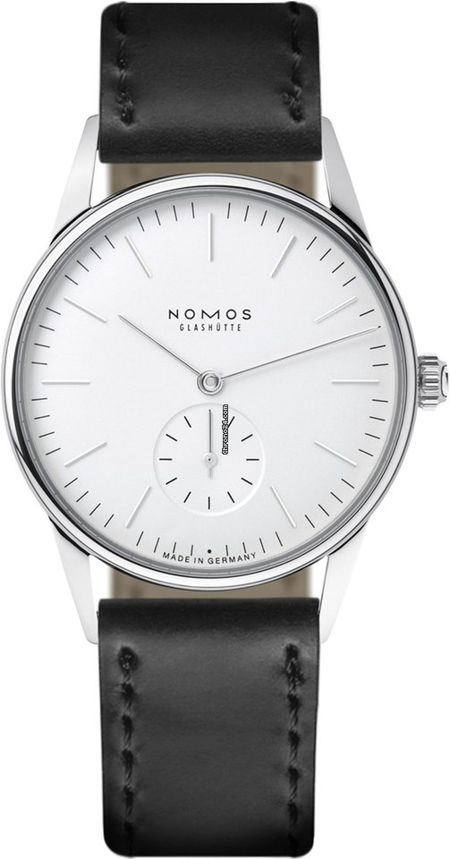 NOMOS Orion 331 Weiss Stainless Steel Back 2021 new