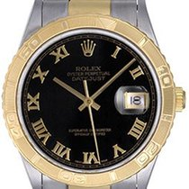 Rolex Men's Rolex Turnograph 2-Tone Steel & Gold Watch 16263