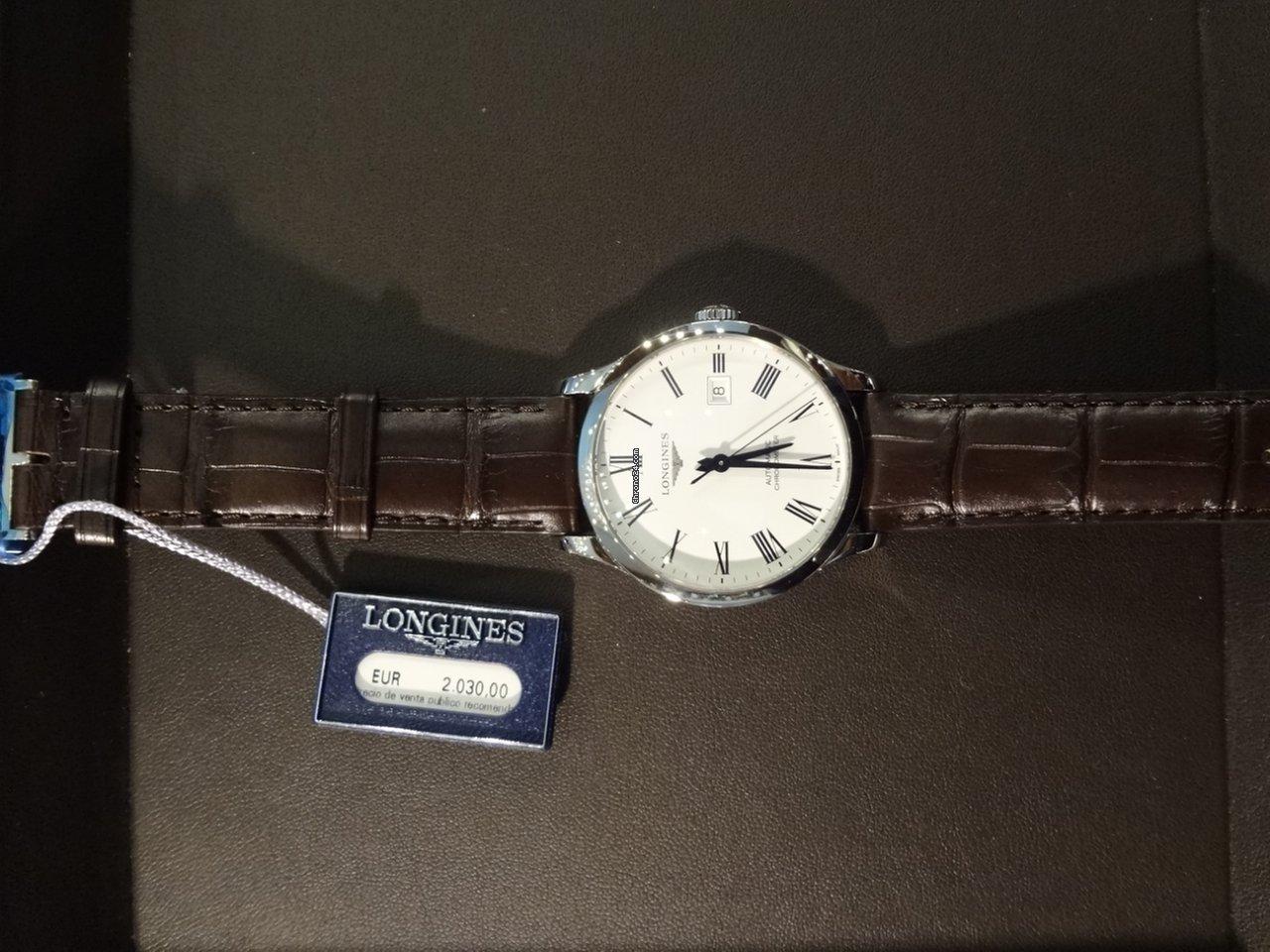 Longines Record 40mm Automatic Chronometer En Venta Por 1