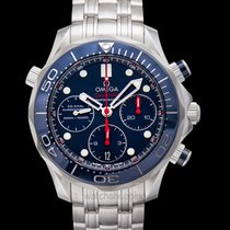 Omega Seamaster Diver 300 M Steel 41.5mm Blue United States of America, California, San Mateo