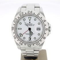 Rolex Explorer II Steel White Dial 40mm (BOXonly2001)