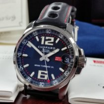 Chopard Mille Miglia pre-owned 44mm Black Date Leather