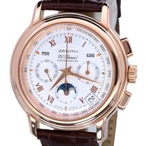 Zenith El Primero Chronomaster Moonphase Rose Gold 40 mm (Full...
