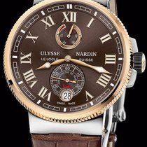 Ulysse Nardin Marine Chronometer Manufacture 43mm Brown Roman numerals United States of America, New York, New York
