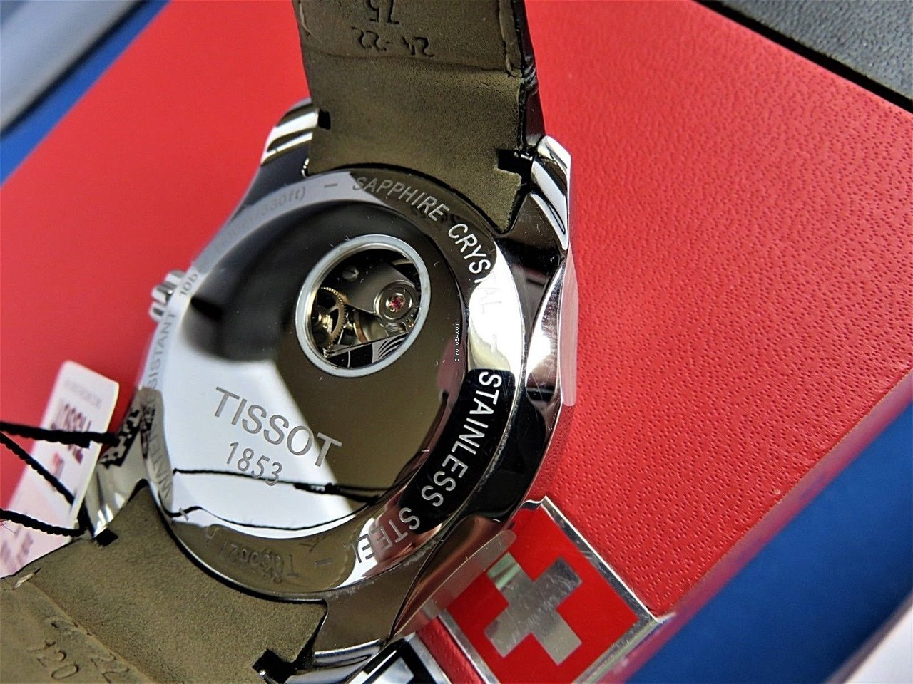 Tissot Couturier Automatic Chronograph 43mm T035627160510 For T0356271605100 C 998 Sale From A Seller On Chrono24