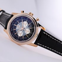 Breitling RB0510U4/BB63 Rose gold 2019 Transocean Chronograph Unitime 46mm new United States of America, New Jersey, Princeton