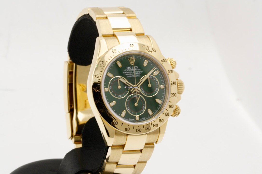 cfad5588e9b Rolex Daytona - Full Set - Original Green Daytona Dial - As... por R   102.837 para vender por um Trusted Seller na Chrono24