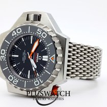 Omega Titanium Automatic Black 55mm pre-owned Seamaster PloProf