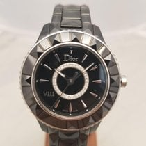 Dior Ceramic 33mm Quartz CD1231E0C002 new