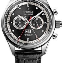 Zenith new Automatic 44mm Steel Sapphire Glass