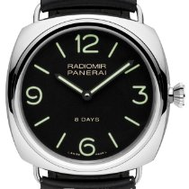 Panerai Radiomir 8 Days Steel 45mm Black Arabic numerals United States of America, New York, New York