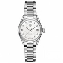 TAG Heuer Carrera Lady Steel 28mm Mother of pearl No numerals