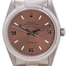 Rolex Air King Precision Stahl 34mm