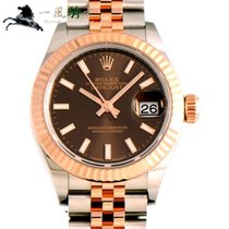 Rolex Lady-Datejust Steel 28mm Brown United States of America, California, Los Angeles