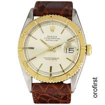 Rolex Datejust Turn-O-Graph Oro/Acciaio 36mm Bianco Senza numeri Italia, roma