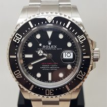 Rolex Sea-Dweller Acier 43mm Noir Sans chiffres