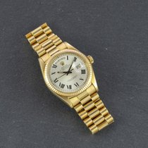 Rolex Day-Date 36 Yellow gold 36mm Silver Roman numerals United States of America, New York, New York