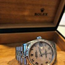 Rolex Lady-Datejust Steel 31mm White No numerals