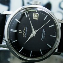 Omega Seamaster DeVille Steel 34mm Black No numerals