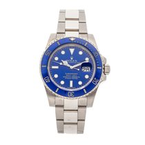 Rolex Submariner Date White gold 40mm Blue No numerals United States of America, Pennsylvania, Bala Cynwyd