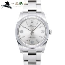Rolex Oyster Perpetual 36 Stahl 36mm Silber