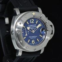 Panerai Luminor Submersible Acciaio 44mm Blu Arabo Italia, Milano MI