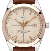 Tissot new Automatic Center Seconds Luminescent Hands 40mm Gold/Steel Sapphire crystal