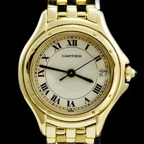 Cartier Cougar Or jaune 26mm Champagne Romains