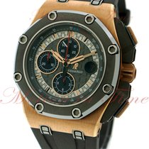 Audemars Piguet Royal Oak Offshore Chronograph Rose gold 44mm Black No numerals United States of America, New York, New York