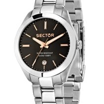 Sector 850 Steel 41mm Black No numerals