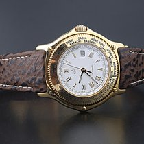Ebel Voyager Yellow gold 38mm White