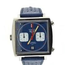 Heuer Vintage Monaco Steve McQueen Chronograph Stainless Steel