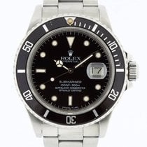 Rolex Submariner 16800 Box & Swiss Papers from 1986