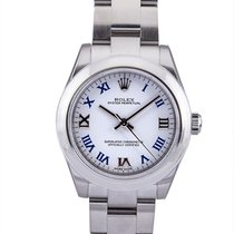 Rolex Oyster Perpetual 31mm In Acciaio Ref. 177200