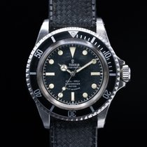 "Tudor 7928 Vintage Submariner ""Rose Logo"" Gilt Chapter..."