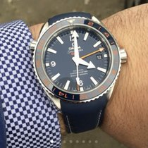 Omega Seamaster PLANET OCEAN 600M OMEGA CO-AXIAL GMT 43.5 MM...