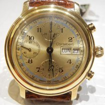 Cortébert Yellow gold 39mm Automatic new