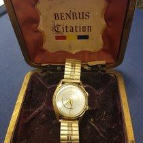 "Benrus Vintage 1950's Benrus ""wrist Alarm"" Model Series #3021..."