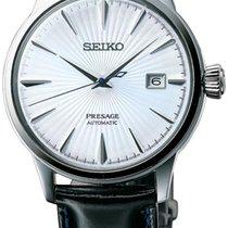 Seiko SRPB43J1  Presage Automatic White Dial 5ATM