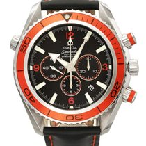 Omega   A Stainless Steel Automatic Chronograph Wristwatch...