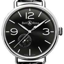 Bell & Ross Steel Automatic BRWW197-BL-ST/SCR new