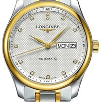 Longines Master Collection Gold/Steel 38.5mm Silver