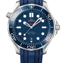 Omega Sea Master Diver 300 blue dial 42 mm Co-Axial Chro