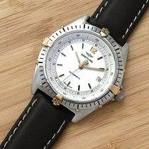 Breitling Antares White 39mm Automatic Gold Stainless Steel Men´s