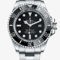 Rolex 44mm Automatic 2016 pre-owned Sea-Dweller Deepsea Black