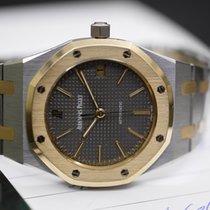 Audemars Piguet Royal Oak 37 mm long indexes steel gold with...