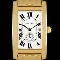 Cartier Tank Américaine pre-owned 23mm Yellow gold